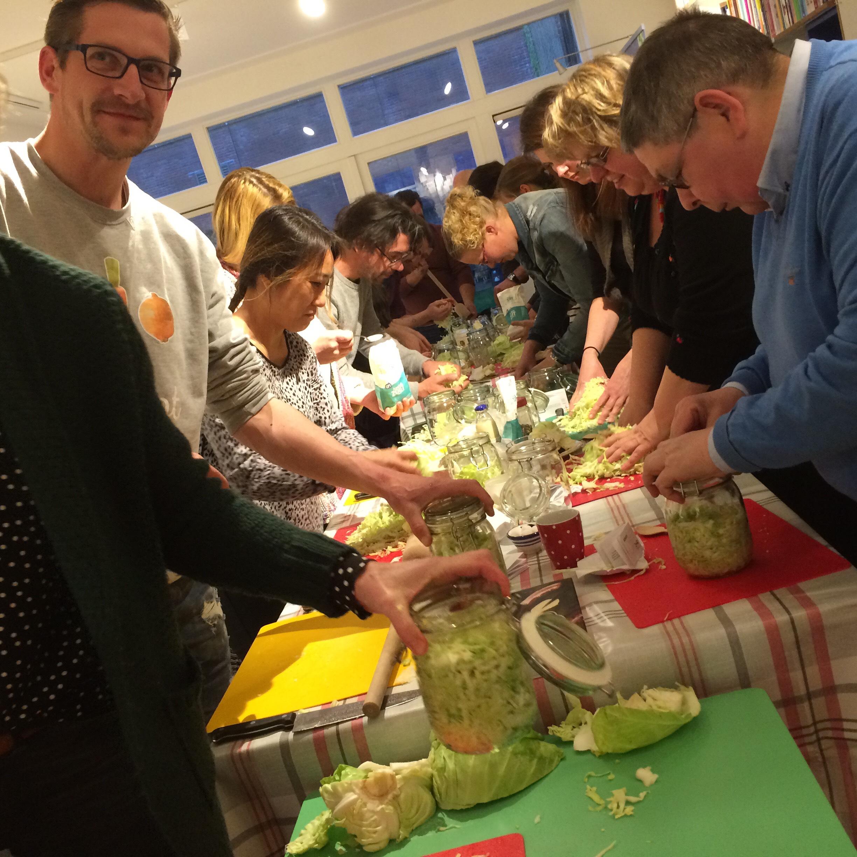 Workshop zuurkool maken
